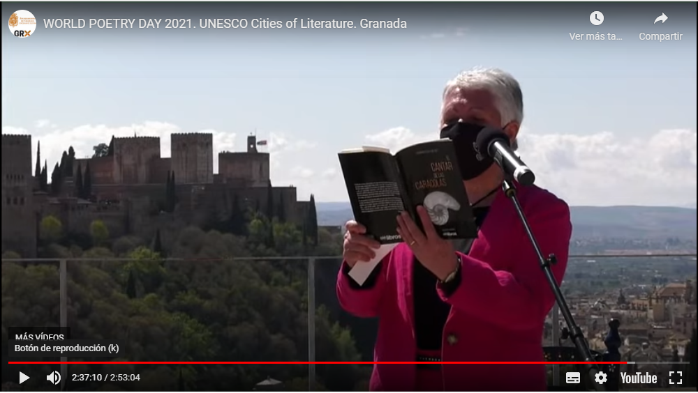 DÍA MUNDIAL DE LA POESÍA 2021. Recital poético