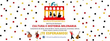 Diploma de participación en la 1ª Feria Virtual del Libro de España