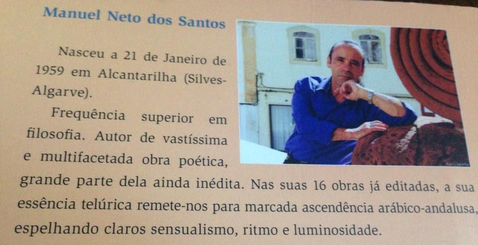 Poetas traducidas/os al portugués por Manuel Neto Dos Santos, poeta y traductor.